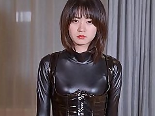 BDSM Fetish Japanese Latex Slave