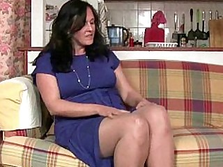 Granny HD Mammy Mature Nylon Panties Pussy Stocking