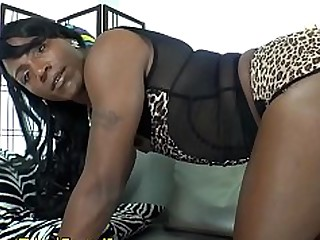Amateur Ass Black Dildo Ebony Jerking Ladyboy Lingerie