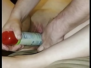 Ass Dildo Fetish Pussy Shaved Sleeping