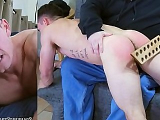 Ass Daddy Oral Punished Rough Spanking Strapon Tattoo