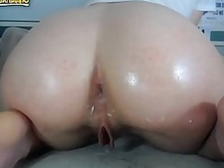 Anal Ass Beauty Dildo Playing