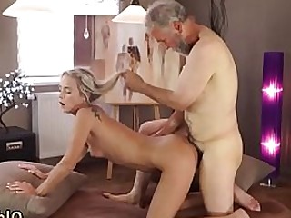 Blonde Blowjob First Time Gang Bang Hardcore Old and Young Sucking Teen