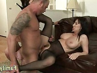 Daughter Group Sex Mammy MILF Threesome