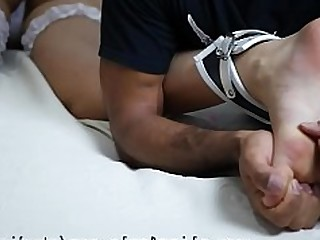 BDSM Feet Fetish Foot Fetish Public Slave