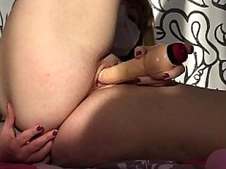 Amateur Ass Blonde Dildo Fingering Fuck Hairy Homemade