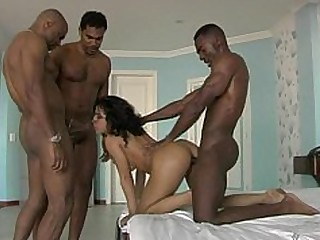 Anal Cumshot Double Penetration Foursome Hot Interracial Double Anal